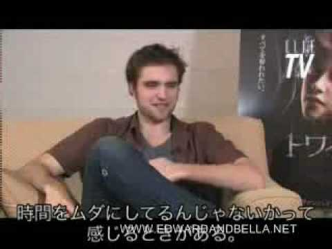 Robert Pattinson Interview for The Twilight Saga: New Moon