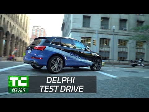 Taking a ride in Delphi's latest autonomous drive