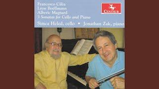 Cello Sonata, Op. 40: I. Maestoso - Allegro con fuoco