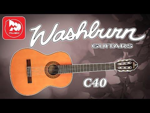 Классическая гитара WASHBURN C40