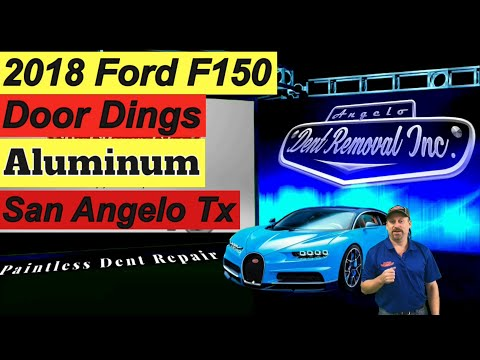 How To Repair Dents and Door Dings With Paintless Dent Removal, 2018 Ford F 150, San Angelo TX