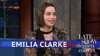 Emilia Clarke Told One Person How \'Game Of Thrones\' Ends