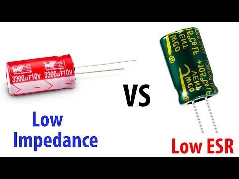 Low ESR и Low Impedance | КАКИЕ КОНДЕНСАТОРЫ ВЫБРАТЬ?