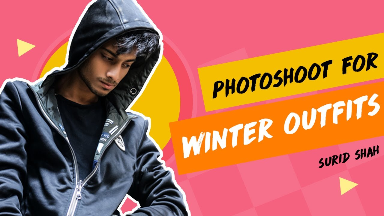 [VIDEO] - PHOTOSHOOT FOR WINTER OUTFITS II SURID SHAH 2