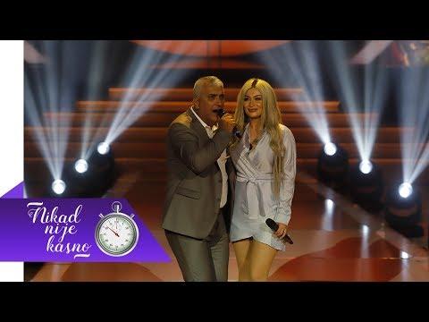 Nevres Hadzic i Andreana - Kaznio me zivot - (live) - Nikad nije kasno - EM 24 - 26.03.2018