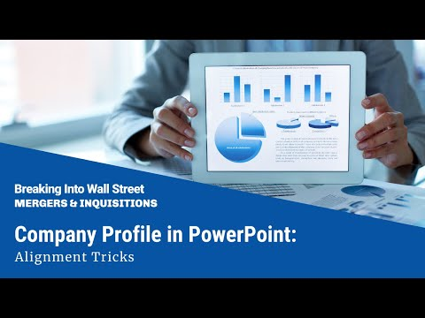Company Profile in PowerPoint: Alignment Tricks