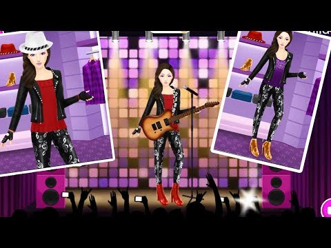 Angelina's Pop Star Salon - Android gameplay
