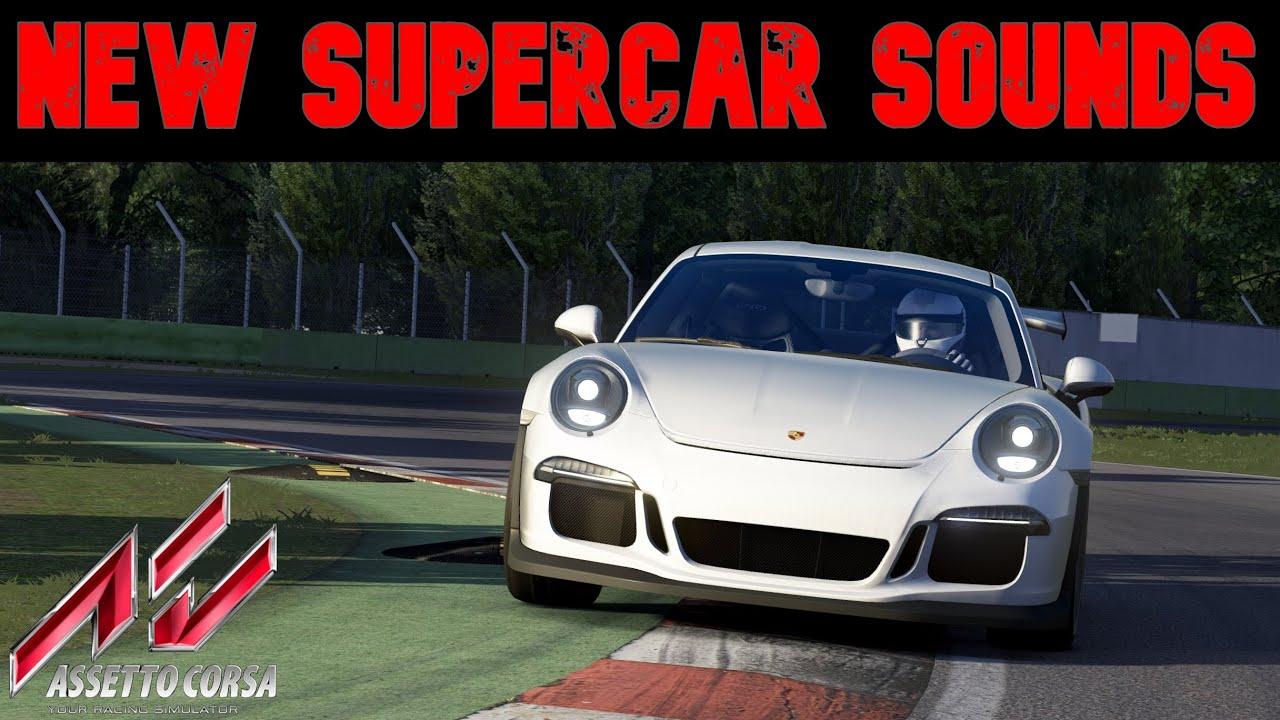 Best free supercar sound mods 2021 Assetto Corsa