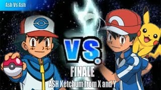 Pokemon Black and White 2 Wifi Battle - Ash Vs Ash X and Y