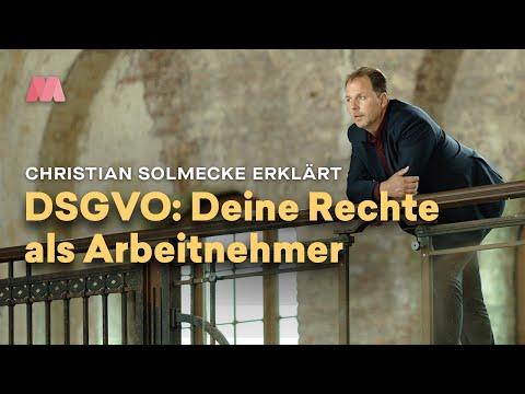Christian Solmecke Erklärt: DSGVO - Deine Datenschutz-Rechte Als Arbeitnehmer