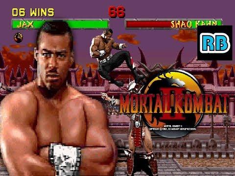 1993 [53fps] Mortal Kombat II Jax ALL