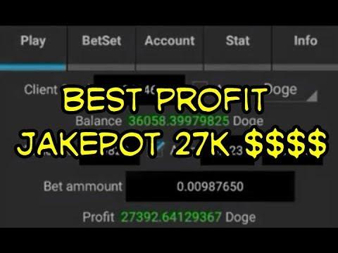 999dice Profit Trick Gambling Profit 27k Dogecoin $$$