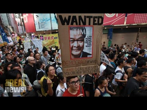 Hong Kong Protests Carefully Crafted, Not Spontaneous