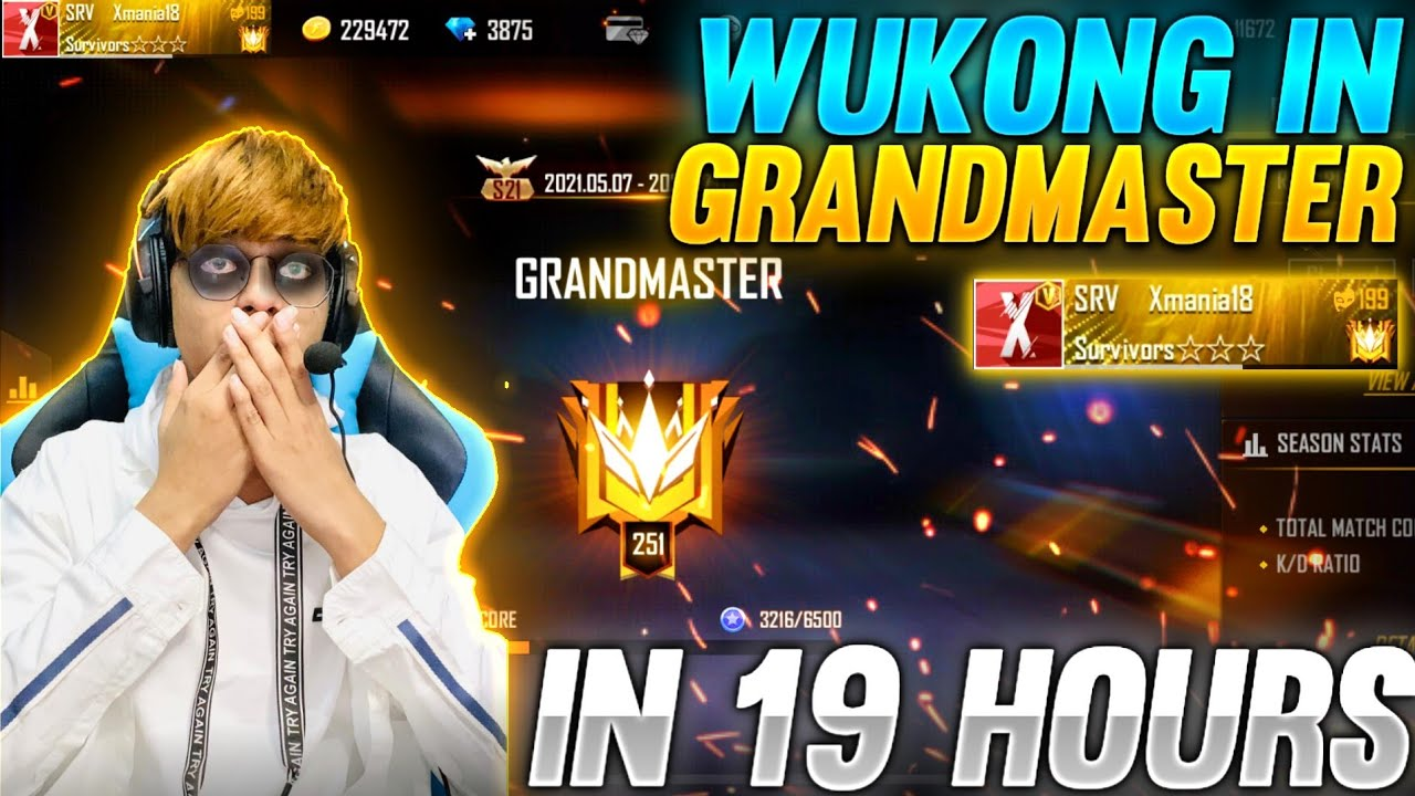 Grandmaster in 19 Hours With Wu-Kong #xmania
