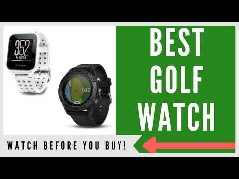✅ TOP 3 BEST GOLF GPS WATCHES TO BUY IN 2019 (BUYERS GUIDE)