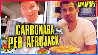 CHEF A DOMICILIO in OLANDA / Carbonara per AFROJACK thumbnail