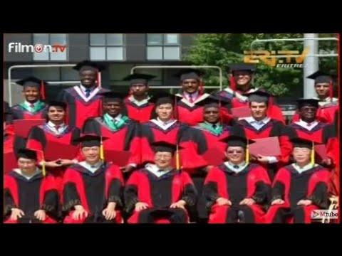 Eritrean Graduates from China University