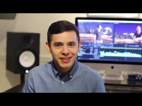David Archuleta - Up All Night (Behind the Video )