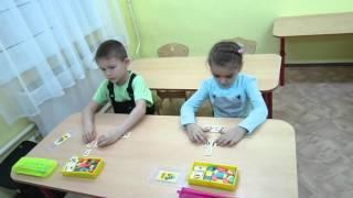 Учим состав числа 7 , строим домик, решаем примеры.