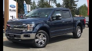 2018 Ford F-150 Lariat Chrome Technology  502A V8 Supercrew Review   - Island Ford