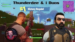 FORTNITE Journey / Squad Leader / Thunderdee & i get our 3rd Duos Win