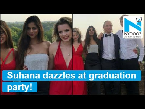 SEE PICTURES: Suhana Khan and her stylish squad at Graduation party Mp3