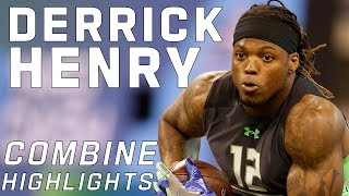 Derrick Henry (Alabama, RB) | 2016 NFL Combine Highlights