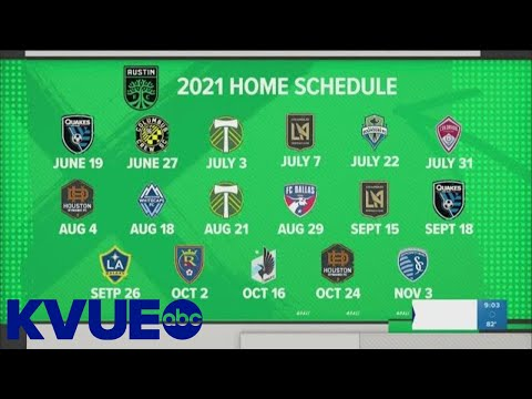A look at Austin FC's full 2021 schedule | KVUE