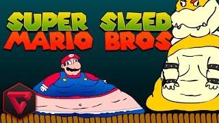 SUPER SIZED MARIO BROS + MENSAJE ESPECIAL | iTownGamePlay
