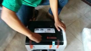unboxing HP Laserjet Pro CP1025 Part II