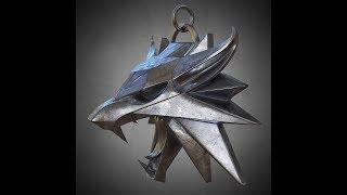 медальон школы волка (The Witcher) своими ручонками