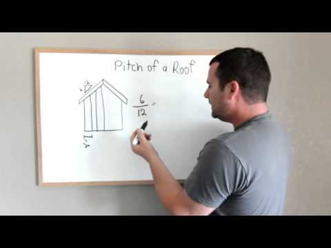 Roof Pitch And How To Manipulate Rise Over Run Youtube