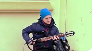 Bésame Mucho guitar cover, классическая гитара, Одесса, Дерибасовская