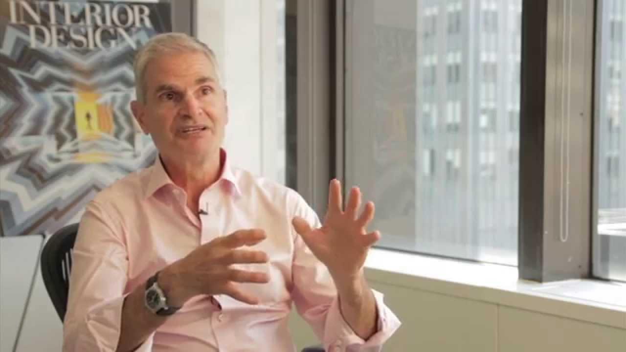Mark Strauss President Publisher Of Interior Design Magazine