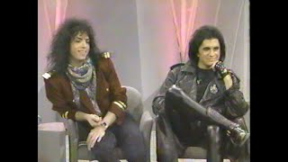 Gene Simmons & Paul Stanley (KISS) on Oprah 1988 with Jackie Collins + Pamela Des Barres