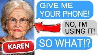 """r/entitledparents """"Karen Demands my iPhone!"""" Entitled Parents Stories of Reddit"""