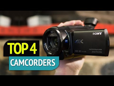 TOP 4: Camcorders 2018