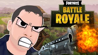 Playing Fortnite on Live Stream #1