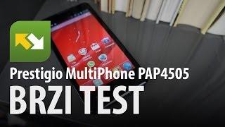 Prestigio MultiPhone 4505 DUO : brzi test