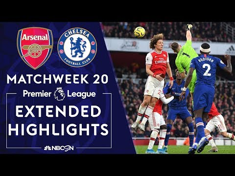 Arsenal v. Chelsea | PREMIER LEAGUE HIGHLIGHTS | 12/29/19 | NBC Sports