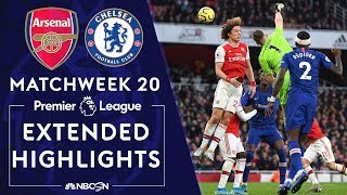 Arsenal V. Chelsea | Premier League Highlights | 12/29/19 | Nbc Sports