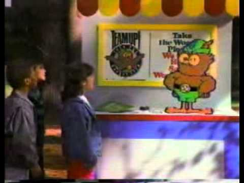 Woodsy the Owl TV Ad 1987