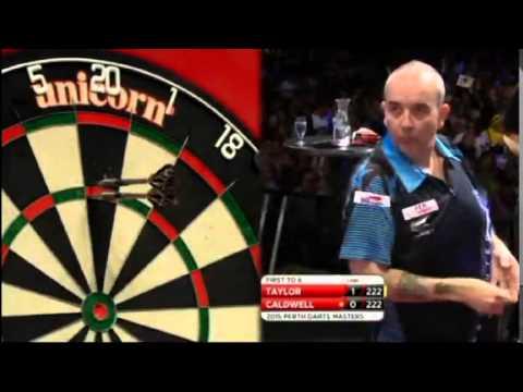 2015 Perth Darts Masters Round 1 Taylor vs Caldwell