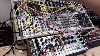 Live Jam #181 – Industrial / Melodic / Percussion - Eurorack modular synth, Korg SQ-1