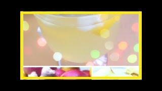 РЕЦЕПТ: Имбирный чай с яблоками