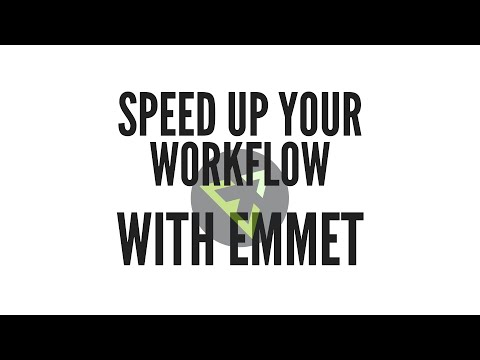 Emmet - The Essential Toolkit For Web Developers
