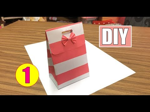 DIY - Paper Bag Tutorial #01