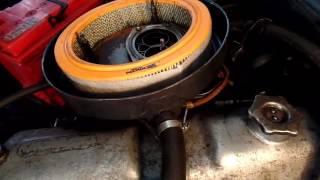 Диагностика двигателя ВАЗ 2104 на пробитие прокладки головки цилиндров