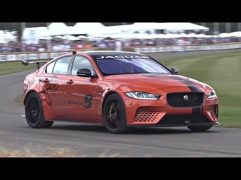 2018 Jaguar XE SV Project 8 LOUD V8 Exhaust Sound @ Goodwood Hillclimb!