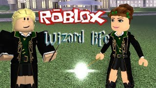 Roblox Wizard Life Roleplay! Casting Magic Spells in School of Witchcraft - Titi Games
